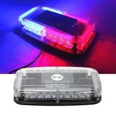 12v Car Roof Led Strobe Lights Bar Police Emergency Warning Fireman Flash Led Police Lights  red and blue