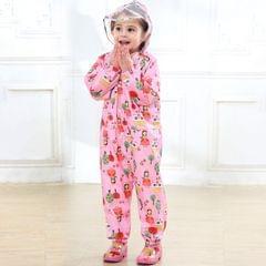 Siamese Children Raincoat  Print Thin Section Hooded  Raincoat