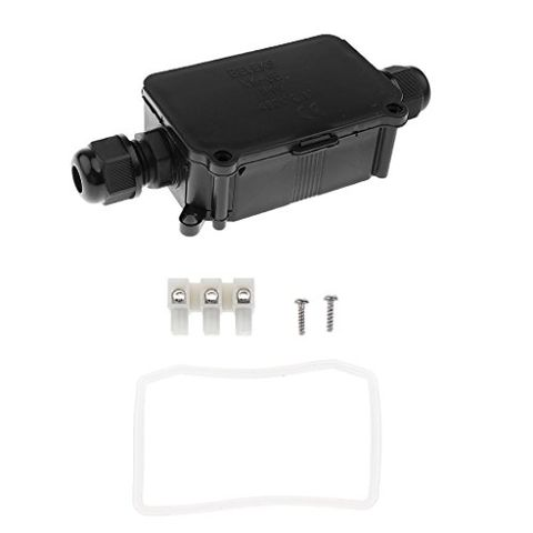 Plastic Waterproof Enclosure Case Box Electrical Junction Box IP66 2Way