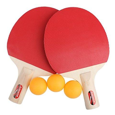 1 Pair Table Tennis Racket with 3 Balls