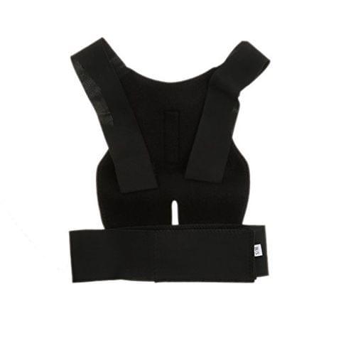Professional Comfortable Back Posture Support Correction Belt Guard Posture Corrector Pain Stress Releiver Black M