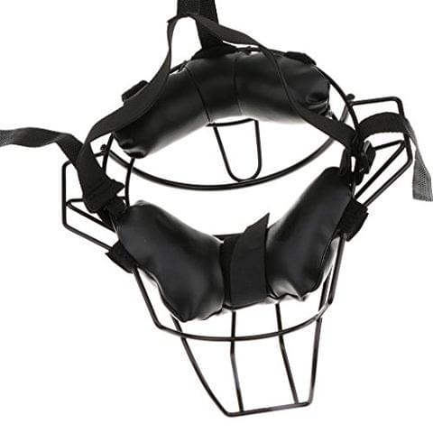 Baseball Softball Adult Catchers Protective Gear Black Durable Face Guard Mask
