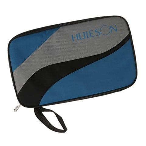 Portable Rectangle Shape Table Tennis Racket Case Ping Pong Paddle Bat Carry Bag Cover