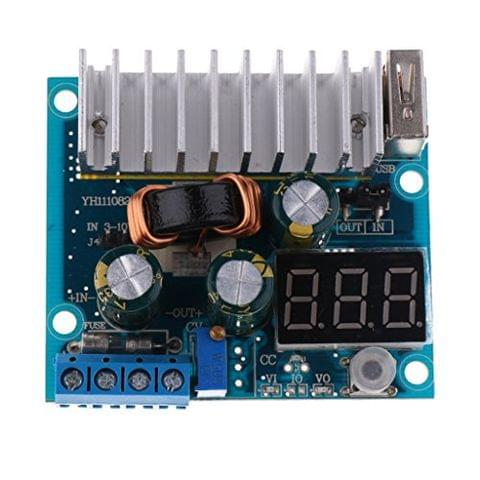 1 PC DC to DC Step-up Boost Power Converter Regulator Module 3V-35V 10A 60x50x20mm Power Supply Voltage Charger Module