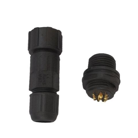 8 Pins Waterproof Panel Cable Connector Multipole Plug Socket IP68 500V 5A