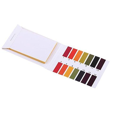 80 Strips 1-14 Range Universal PH Indicator Papers Lirmus Test Paper Tester
