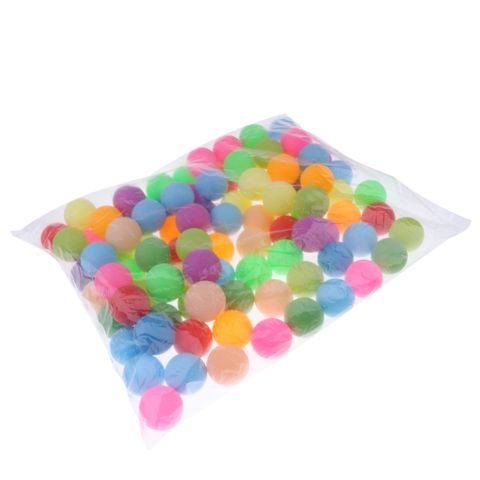 Pack Of 100 Ping Pong / 40mm Table Tennis Balls Beer Pong / Colorful Cat Balls
