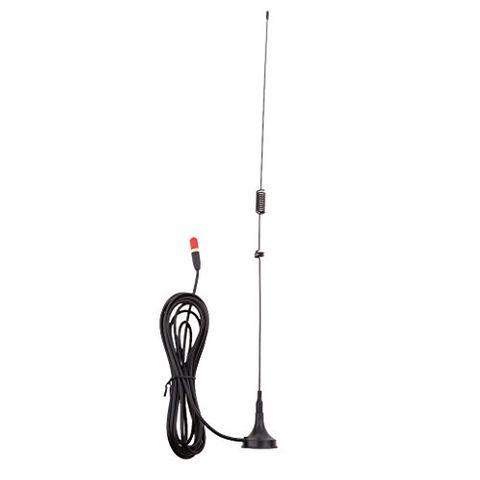 SMA-F UHF+VHF Magnetic Car Radio Antenna for BAOFENG Two Way Radio UV-5R Walkie Talkie