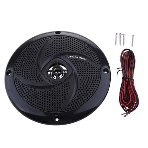 Boat Marine Waterproof Speaker Sound Auto Modified Horn Round Flush Fitting