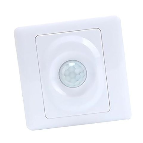 Motion Sensor Fan Light Switch Time Delay Detector Bulb Fan AC110-250V White