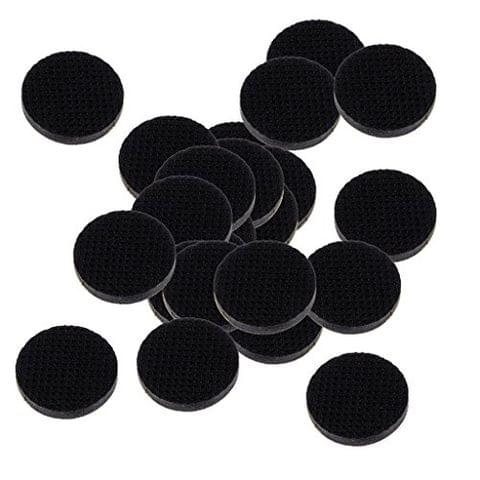 50 Pieces 23mm Silicone Anti Skid Round Pads Pack Furniture Leg Floor Protector