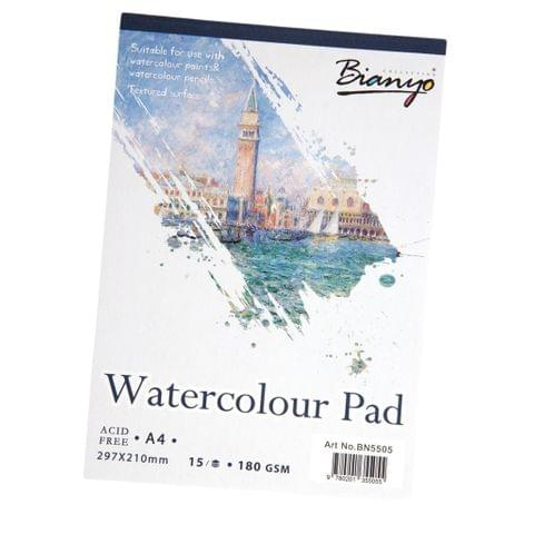 15 Sheet A4 Watercolor Paper Pad Painting Art Drawing Paper Pad Sketchbook