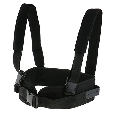 Safety Secure Transfer and Walking Gait Belt with Caregiver Hand Grips Patient Ambulation Medication Assist Aid