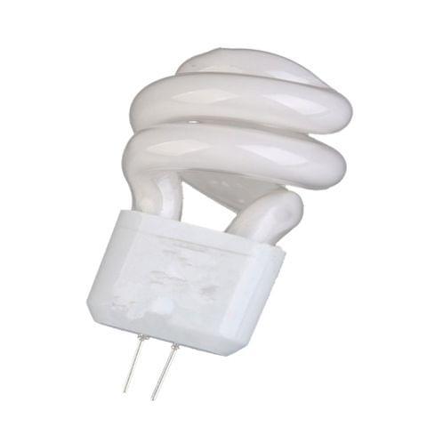 Bi-pin G4 Base Spiral Light Bulb Fluorescent Lamp 220V 3W