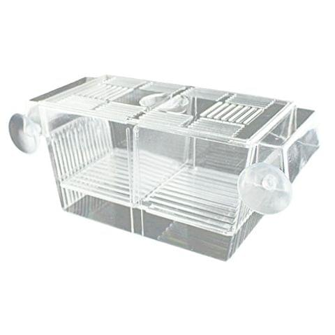 Self-Floating Fish Breeder Case Breeding Box for Aquarium Fish Tank Hatchery