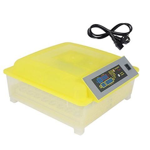 Fully Automatic Egg Incubator for Hatching 48 Chicken Eggs or Equivalent EU Plug