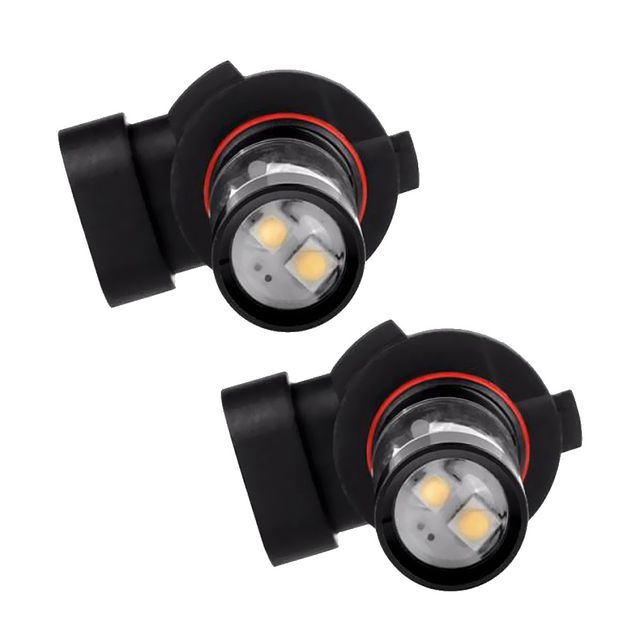 2 Pieces H10 50W LED Super White Car Truck Fog Lights Backup Reverse Lamps