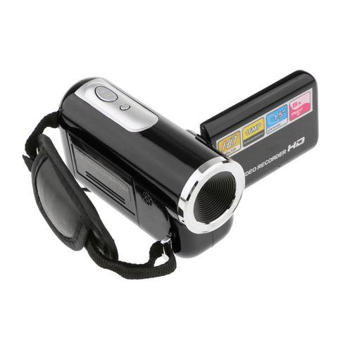 720P Digital Camcorder Portable Video Camera DV DVR 8X Zoom 18'' Screen Black