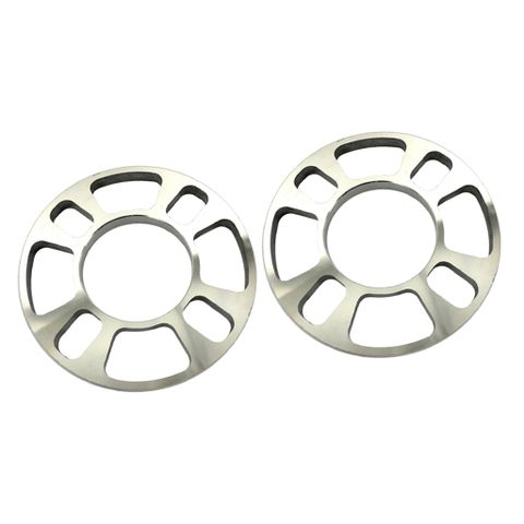 2 Pieces Universal Wheel Spacer 4 Hole 12mm thick Aluminum Wheel Adapters