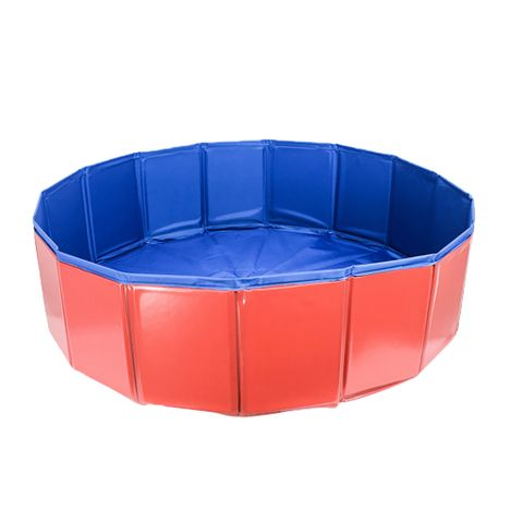 Collapsible Dog Pool Bathing Tub for Cats Plastic Pet Puppy Swimming Pool