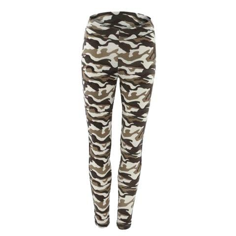 Women Ladies Sports Fitness Leggings Exercise Yoga Jumpsuit L Camouflage