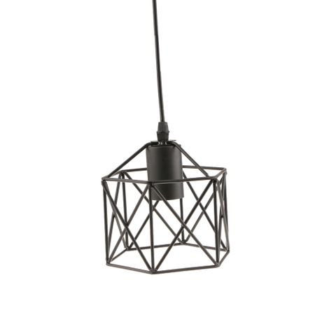 Vintage Retro Lampshade Wire Cage Ceiling Chandelier Pendant Lamp Light Shades Decor #5