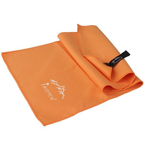 Lightweight Travel Outdoor Camping Sports Gym Quick Drying Towel Orange