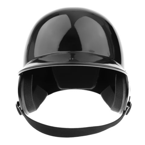 Youth Adult Pro Double Flap Batting Helmet Baseball/Softball Helmet - Black