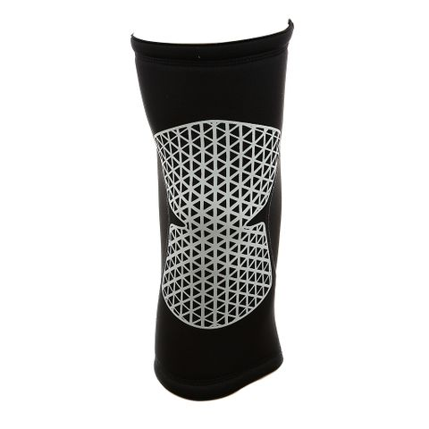 Sports Basketball Soccer Running Cycling Knee Support Soft Sweat Absorbing Sleeve Kneepad Brace Black L