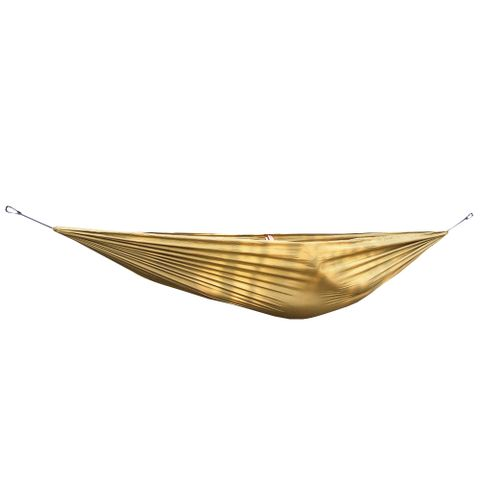 Portable Lightweight Convenient To Carry Hammock FOR Camping Hiking Travelling Picnic Backyards Brown 106 x 55 inch