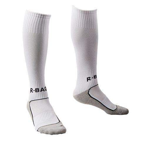 1 Pair Kids Towel Bottom Football Soccer Training Socks Team Socks - White