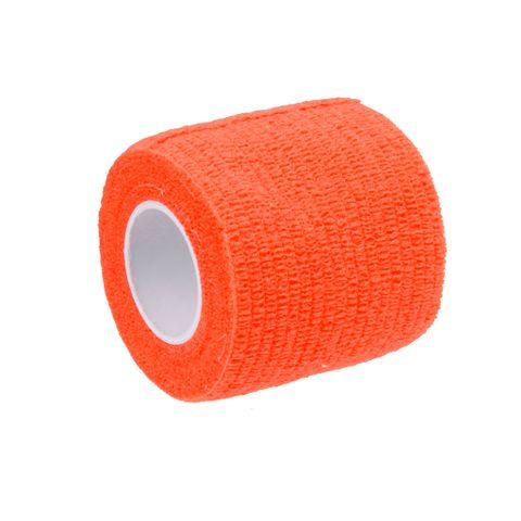 Outdoor Hiking Camping Accessory Body Care Treatment Self-Adhesive Bandage Tape Orange
