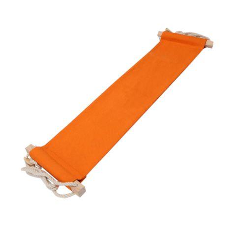 50KG Load Capacity Portable Mini Office Foot Rest Stand Desk Feet Hammock Easy Disassemble Home Garden Use Orange