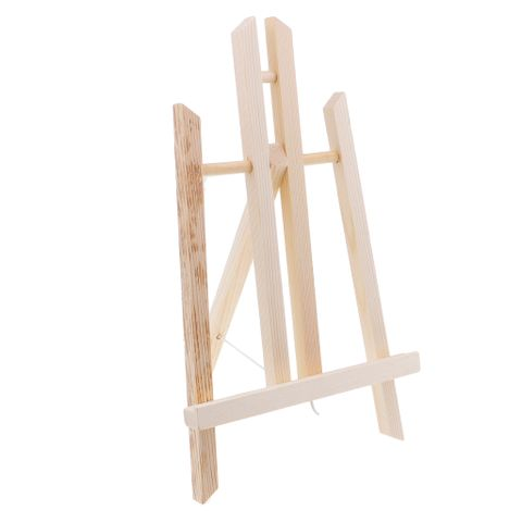 Tabletop Easels, Wood Easel, Mini Easels for Tabletop Painting, Standing Easel, Diaplay Canvas Paintings 30x16cm