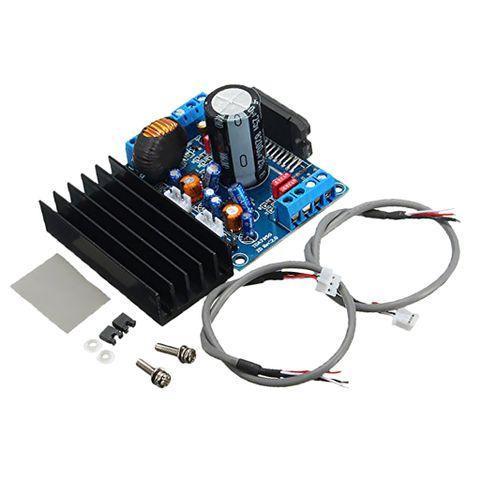 DC 12V 4x50W TDA7850 Car Audio Power Amplifier Board Stereo+BA3121 Denoiser