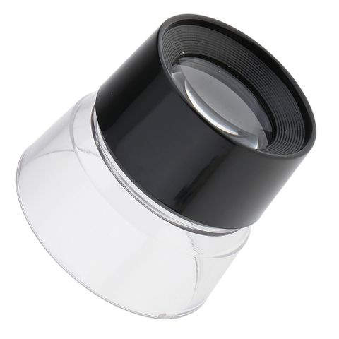 10X Multifunctional Cylinder Eye Magnifier Magnifying Glass Loupe Lens