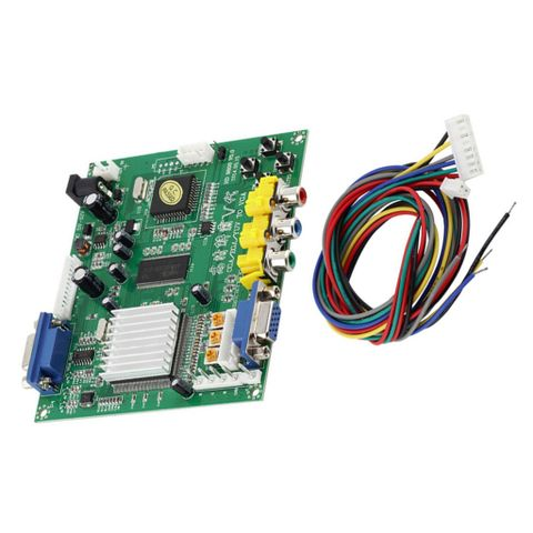 Portable High Definition HD9800Arcade Game Video Converter Board For LCD Monitor