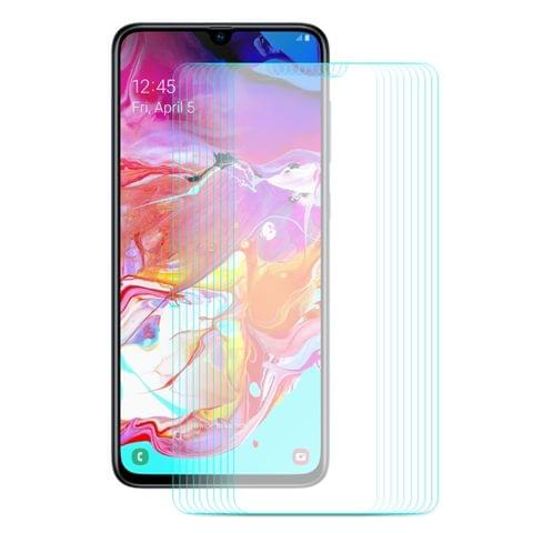 Buy 10 PCS ENKAY Hat-prince 0.26mm 9H 2.5D Curved Edge Tempered Glass Film for Galaxy A70