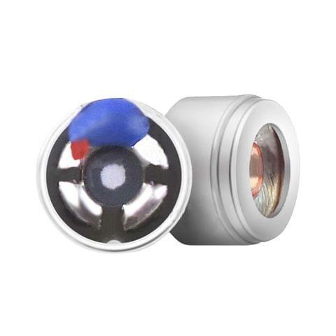 HI06-2 6mm In-ear Dual Unit Moving Coil Iron Sports Earphone Speaker, 1 Pair