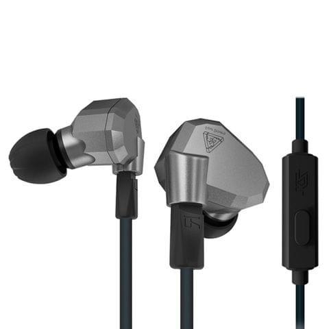 KZ ZS5 1.2m 3.5mm Hanging Ear Sports Design In-Ear Style Wire Control Earphone