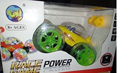 Green Color Ben 10 Car for The Kids.