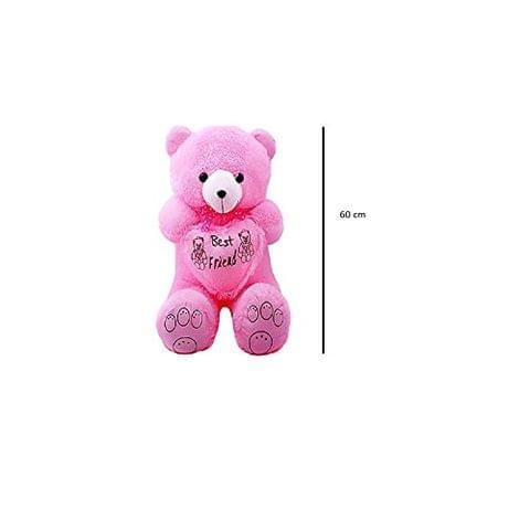 Pink Cute Teddy Bear 60 cm