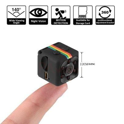 Mini Camera HD 1080P Sensor Night Vision Camcorder Motion DVR Video small Camera cam SQ 11