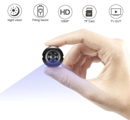 Mini Camera 1080P Sensor Portable Security Camcorder small cam Night Vision Motion Detection Support Hidden TFcard