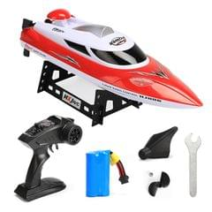 HongXunJie HJ806 2.4Ghz Water Cooling High Speed Racing Boats with Remote Controller, Auto Flip Function, 200m Control Distance (Red)