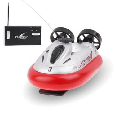 27MHz Radio Control Sport Hovercraft Size: 80 x 50 x 40mm (Red)
