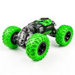 675E 1:16 2.4GHz Double-sided Twisted Off-road Four-wheel Drive Climbing Remote Control Children Toy Car, Size: 33cm (Green)