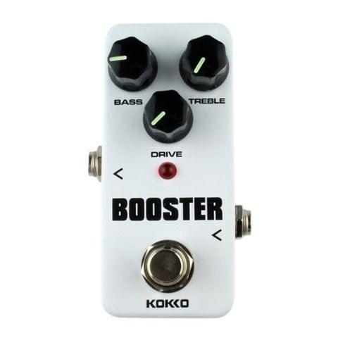 KOKKO FBS2 2-Band EQ Booster Mini Guitar Effect Pedal(White)