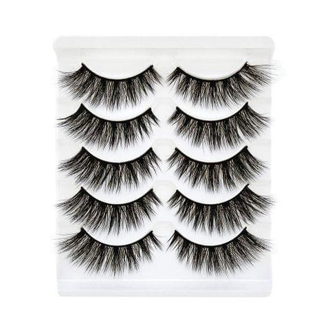 Faux Eyelash 3D Mink Eyelashes Strip