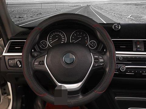 Microfiber Leather Car Steering Wheel Cover